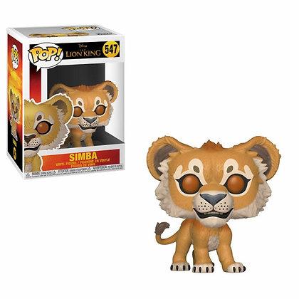 El rey león (2019) Simba POP! Vinyl Figura 9 cm