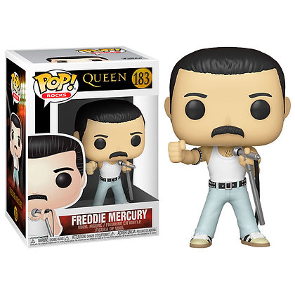 Queen POP! Rocks Vinyl Figura Freddie Mercury Radio Gaga 9 cm