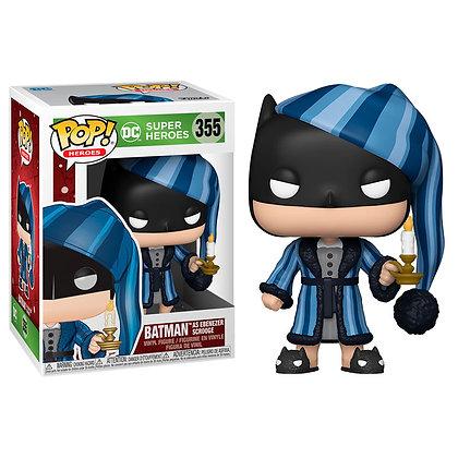 DC Comics Figura POP! Heroes Vinyl DC Holiday: Batman as Ebenezer Scrooge 9 cm