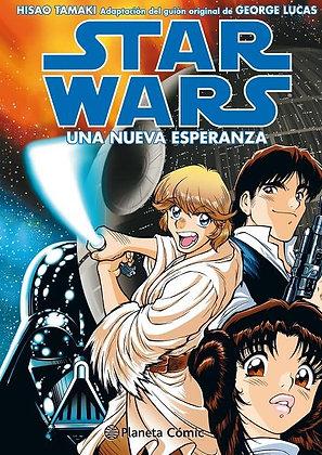 Star Wars Manga Una nueva esperanza