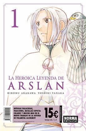 Pack iniciación La heróica leyenda de Arslan 1 y 2