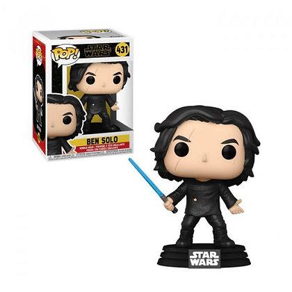 Star Wars Episode IX POP! Movies Vinyl Figura Ben Solo w/Blue Saber 9 cm