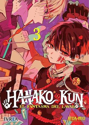 Hanako-Kun, El fantasma del lavabo Vol.3