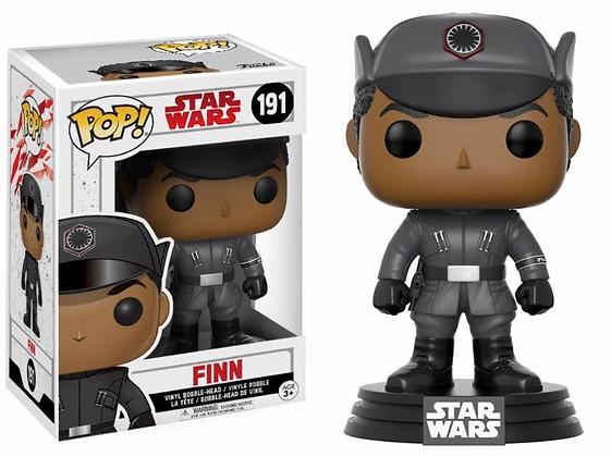 Star Wars Episode VIII POP! Vinyl Cabezón Finn 9 cm