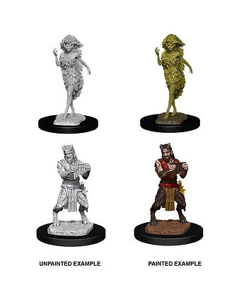 D&D Nolzur's Marvelous Miniatures Miniaturas sin pintar Satyr & Dryad