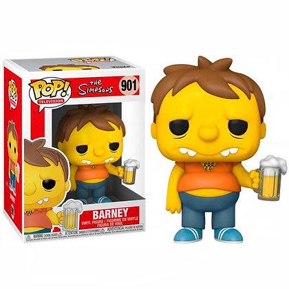 Los Simpson Figura POP! Animation Vinyl Barney 9 cm