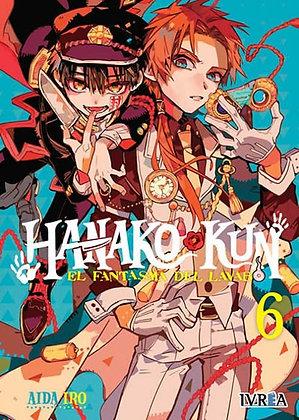 Hanako-Kun, El fantasma del lavabo Vol.6