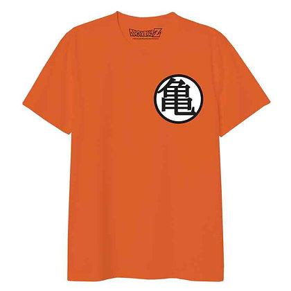 Kame School Kanji Camiseta Naranja Unisex Dragon Ball