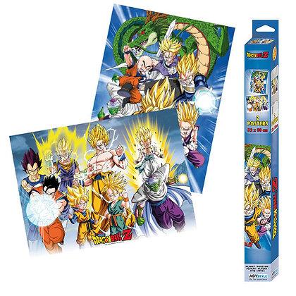 Set 2 Posters Dragon Ball 52X38