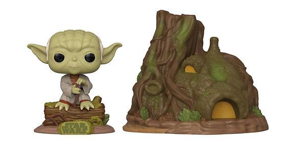 Star Wars POP! Town Vinyl Figura Yoda's Hut Empire Strikes Back 40th Anniversary