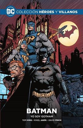 Colección Heroes y Villanos Vol.01: Batman, yo soy Gotham