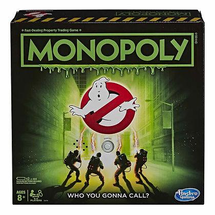 Monopoly Cazafantasmas. Juego de tablero. Hasbro