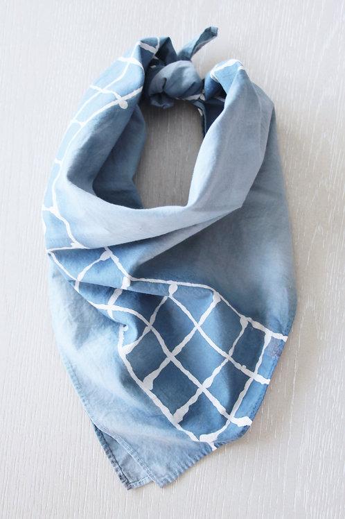 Hand-Dyed Cotton Bandana