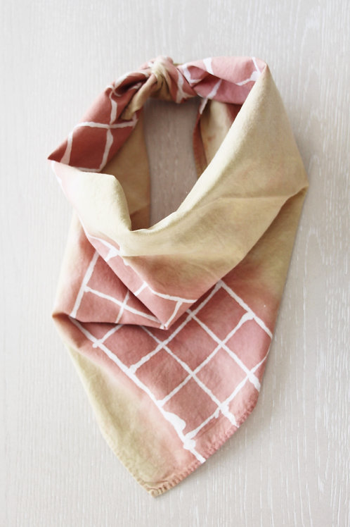 Hand-Dyed Cotton Bandana