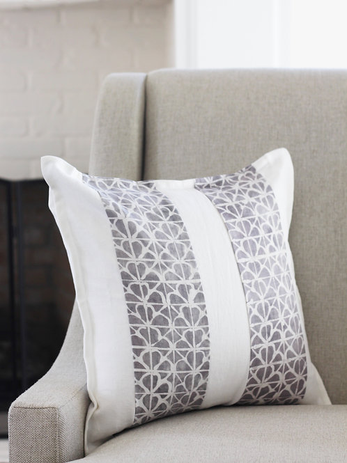 Hand-Dyed Linen Pillow Cover