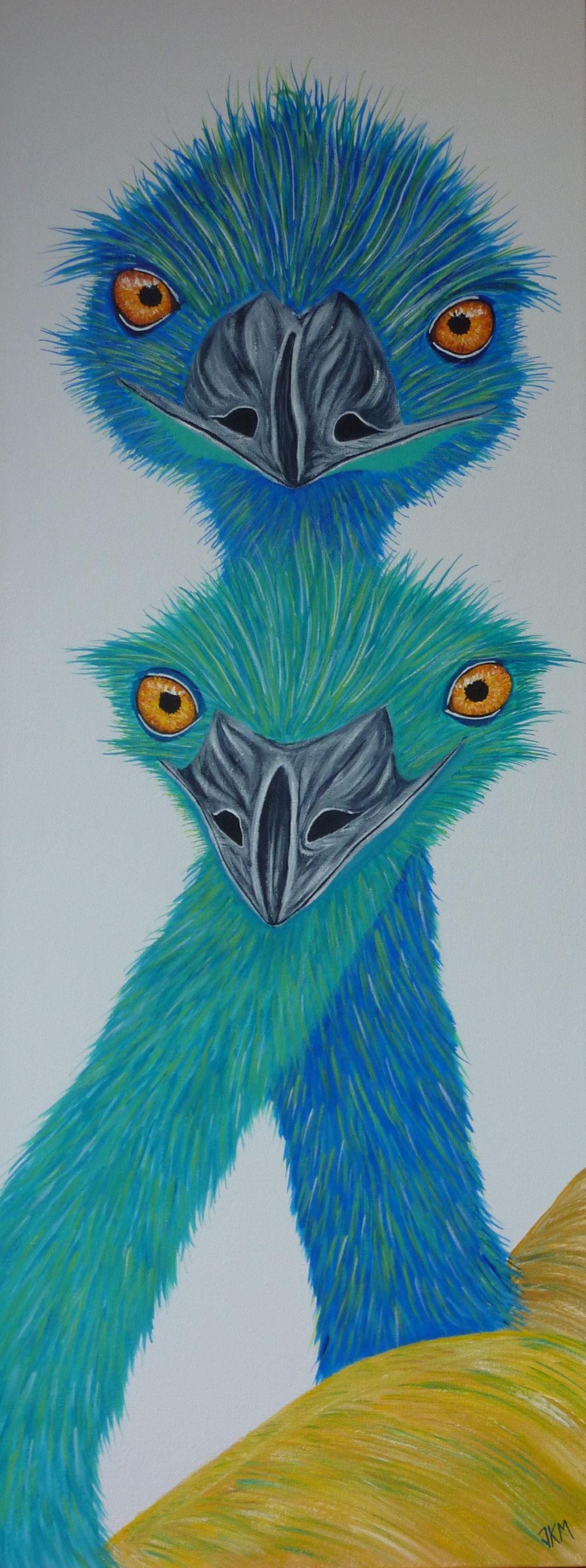 Emu Photo Bomb