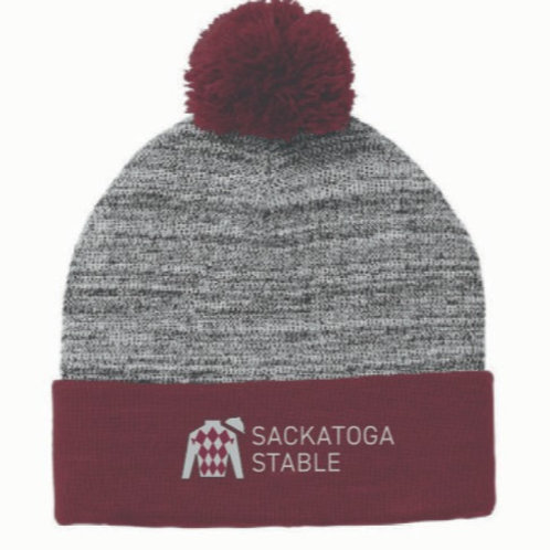 Sackatoga Stable Pom Pom Hat