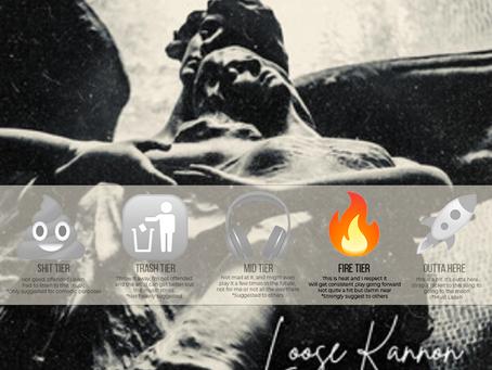 Anthony Kannon flexes lyrical ability on latest single 'Loose Kannon' - Review