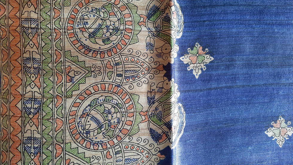 Madhubani Printed Ghicha