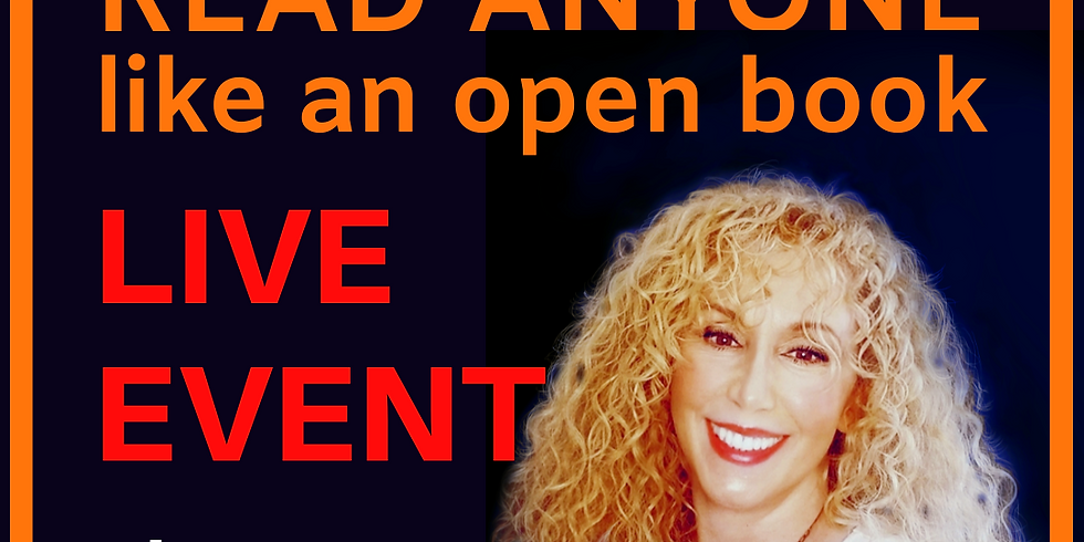 How To Read Anyone Like An Open Book ALL DAY EVENT