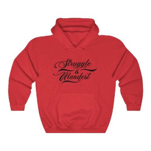 STRUGGLE & MANIFEST FRONT POCKET HOODIE