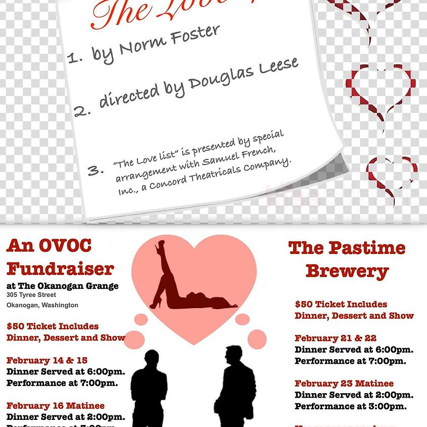 Valentine's Weekend Dinner Theater