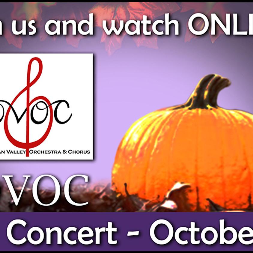 Fall Concert Online!