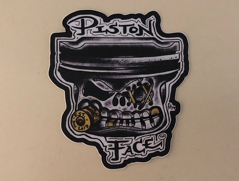 Sticker/Decal (PistonFace Logo)