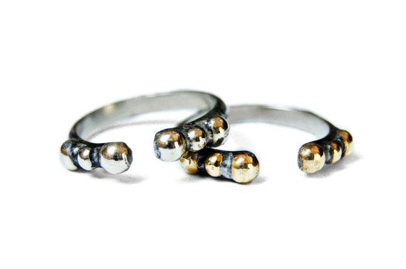 Hattie Single Studded Ring
