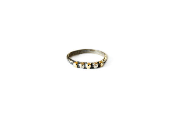 Kate Studded Band Ring