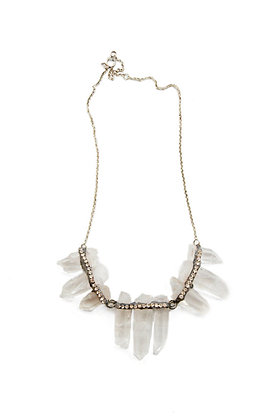 Rhiannon Crystal Quartz Necklace
