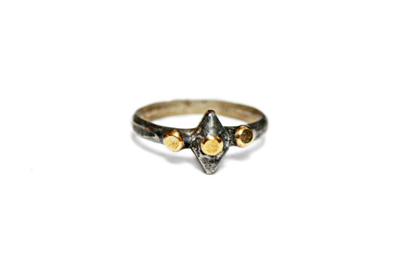 Mercury Studded Ring