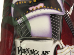 Mornings are my worst Nightmare.