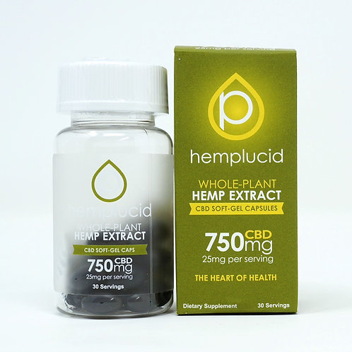 Hemplucid 750mg/30ct Full Spectrum Capsules
