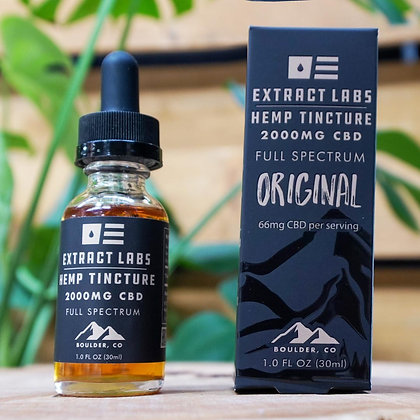 Extract Labs 2,000mg Full Spectrum Oil