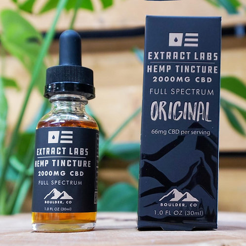 Extract Labs 2000mg Full Spectrum Oil