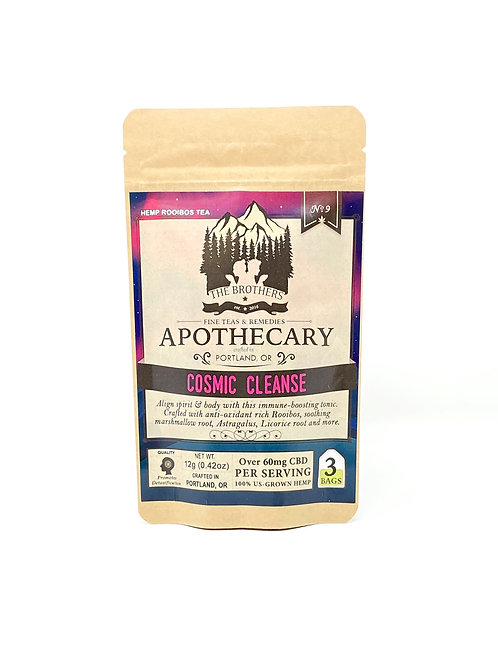 Apothecary 180mg/3ct Full Spectrum Tea Bags Cosmic Cleanse