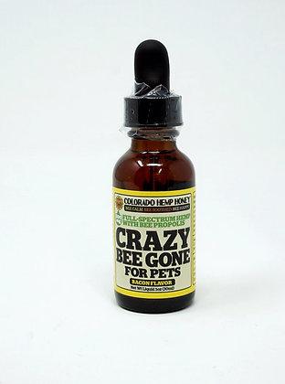 Colorado Hemp Honey 'Crazy Bee Gone' Pet 500mg- Bacon