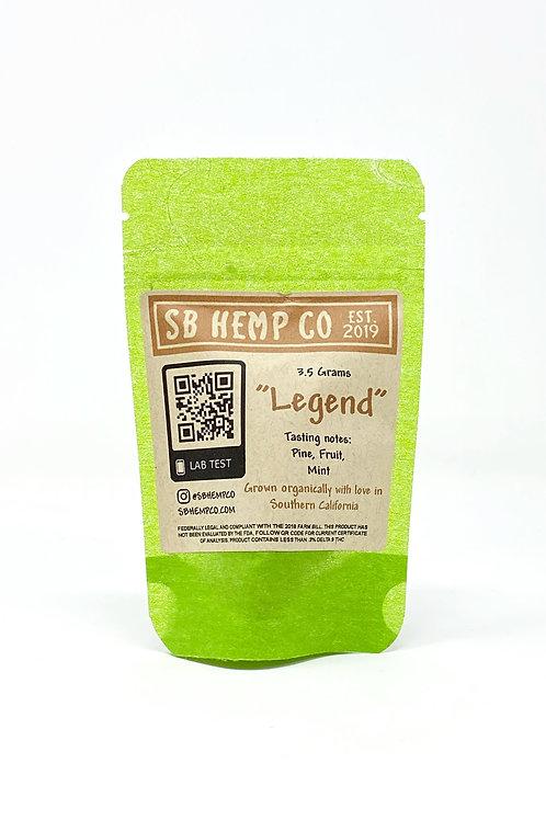 SB Hemp Co. 3.5g Hemp Flower Legend