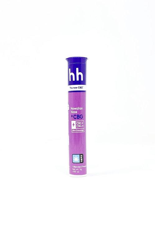 HHemp 1g CBG:CBD Full Spectrum Pre-Roll Hawaiian Haze