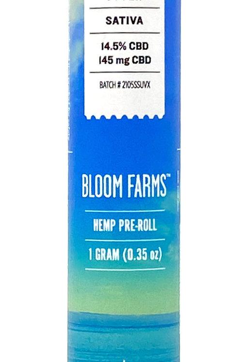 Bloom Farms 1g Full Spectrum Pre-Roll Sativa Suver