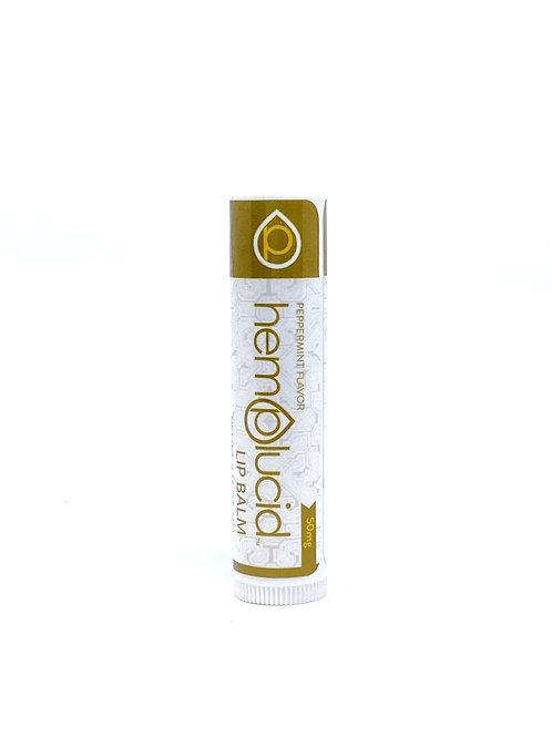 Hemplucid 50mg Full Spectrum Lip Balm Peppermint