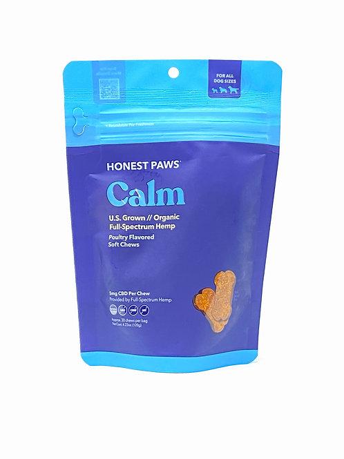Honest Paws 5mg/30ct Full Spectrum Soft Chews Calm