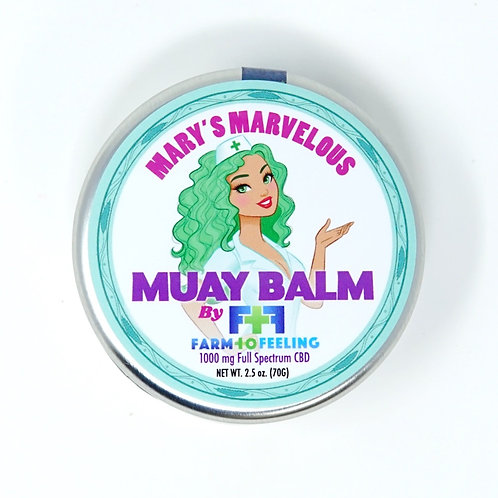 Farm to Feeling 1000mg Full Spectrum Muay Balm