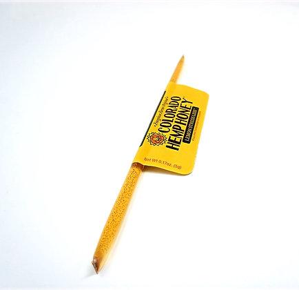 Colorado Hemp Honey 'Lemon Stress Less' Stick- 15mg CBD