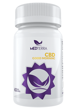 Medterra Good Morning Capsules- 25mg
