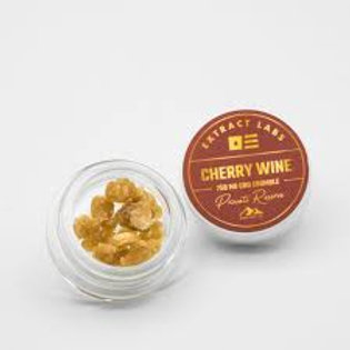 Extract labs 1g Broad Spectrum Crumble Cherry Wine