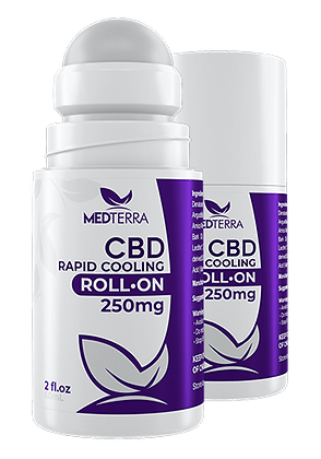 Medterra 250mg Rapid Cooling Roll-On