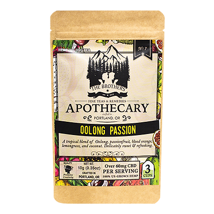 Apothecary 180mg Oolong Passionfruit Tea