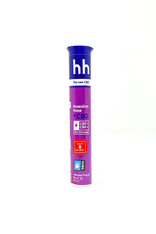 HHemp 1g Delta-8 Full Spectrum Hemp Pre-Roll Hawaiian Haze